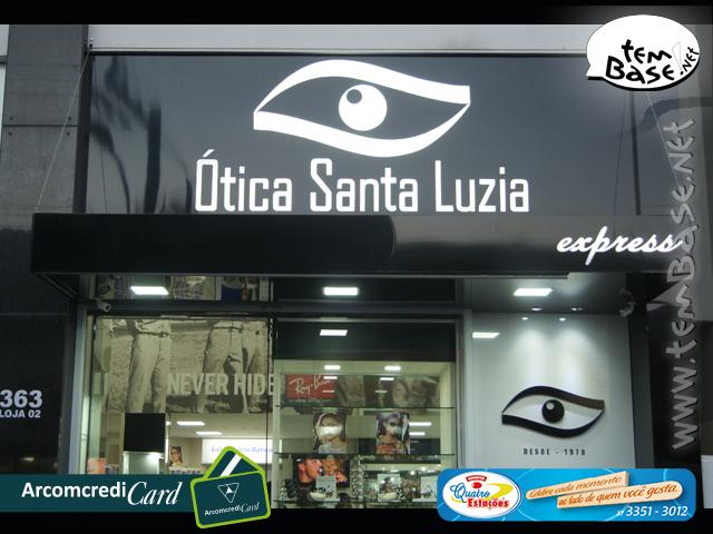 Ótica Santa Luzia - Inauguração da nova loja
