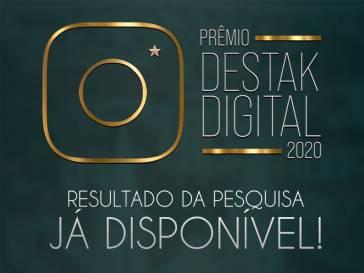 Destak Digital 2020 - Confira os vencedores